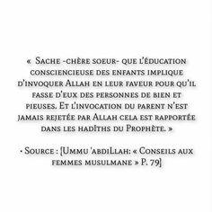 Conseil aux femmes musulmanes Muslim Quotes, Islamic Quotes, Hadith, Motivation, Ramadan, Sentences, Phrases, Religion, Deen