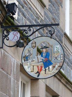 Saint Malo, France Biblioteque
