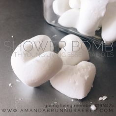 Young Living Essential Oils Shower Bomb for Congestion and Relaxation  www.amandabrunngraeber.com  Member Number #1914125