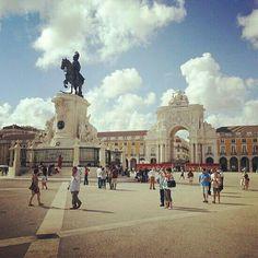 Placa da comercio, Lisboa