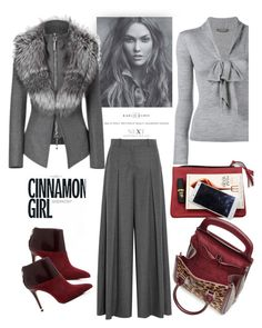"""Cinnamon Girl"" by ildiko-olsa ❤ liked on Polyvore featuring Alexander McQueen, J.Crew, MICHAEL Michael Kors, women's clothing, women, female, woman, misses and juniors"