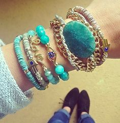 Good for the Soul Stack Set $20 | Complimentary US Shipping www.popofchic.comFollow