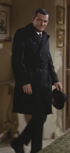 Black trenchcoat worn by Dan Briggs (Stephen Hill) in the Mission: Impossible TV series. Mission Impossible Tv Series, Steven Hill, Childhood Tv Shows, Tv Land, Dapper Men, Vintage Tv, Well Dressed Men, Classic Tv, The Good Old Days