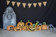 Paper Mache Pumpkins!!
