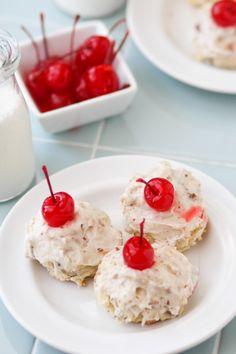 Italian Cream Cake Cookies