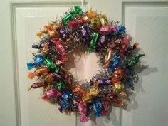 roses sweets wreath