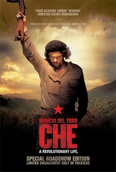 Interesting take on the life of Che. Del Toro does a great job in this role.