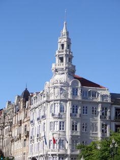 Praça da Liberdade, Porto.