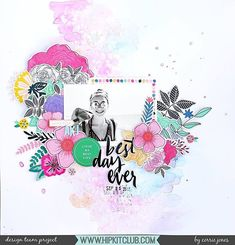 Super excited to share this gorgeous layout by @corej_creative created with our December 2017 Hip Kits.  We adore all the #goodvibes and #allthrgoodthings flowers included in our December Kits. . . #hipkits #hipkitclub #hipkit #vickiboutin #americancrafts #allthegoodthings #cratepaper #goodvibes #pinkfreshstudio #mix2 #mixno2  #scrapbooking #scrapbookkitclub #papercraft #shimmerz #1hotmamacreameez #snowaymanvibez #mixedmedia