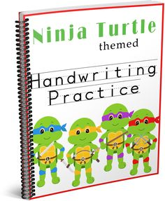 This week the Teenage Mutant Ninja Turtles have started filming their new movie in a city near us. Unfortunately, there is absolutely nothing for Greyson to see, but in honor of all the excitement I made him some ninja turtle themed handwriting practice sheets.       [ddownload ...