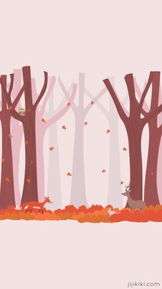 Free November Smartphone iPhone Android Autumn Fall Wallpaper Background