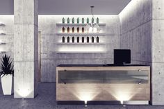 Concept for a beauty salon, design by Enrico Zanolla