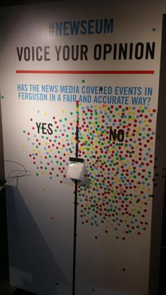 """stunningpicture: """" Saw this in the Newseum in DC """" Interactive Exhibition, Interactive Walls, Interactive Design, Experiential Marketing, Guerilla Marketing, Bibliotheque Design, Library Displays, Guerrilla, Booth Design"""