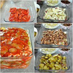 Karkówka z ogórkami konserwowymi, ketchupem i cebulką Pork Recipes, Cooking Recipes, Good Healthy Recipes, Keto, Yummy Food, Treats, Dishes, Chicken, Breakfast
