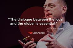 David Binder at TEDGlobal 2012. Photo: James Duncan Davidson