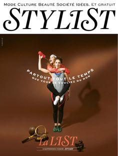 Craquez & Shoppez sur #Overlay  la couverture de #Stylist