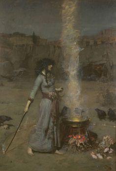 John William Waterhouse 'The Magic Circle', 1886
