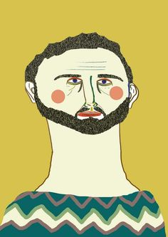 illustration by Ashley Percival. illustration - illustrator - art - drawing - poster - print - character - design - fashion - face -