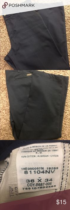 Timber Creek Blue Khakis 36x34 Timber Creek Blue Khakis 36x34 Timber Creek Pants Chinos & Khakis