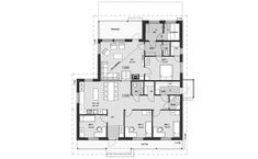Ainoa Idea 175 | Ainoakoti House Floor Plans, Sweet Home, Layout, Flooring, How To Plan, Building, Houses, Ideas, Home Plants