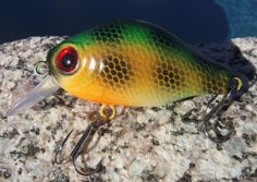 Custom Fishing Lure  Handpainted Crankbait  by CandTCustomLures, $12.00
