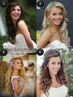 peinados naturales pelo suelto novias - Buscar con Google