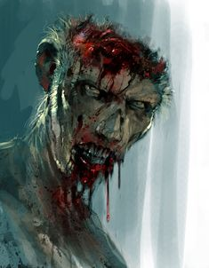 Zombie Concept Art | Concept Art from the 'World War Z' Game That Never Made | Haven In ...
