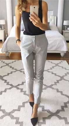 Sophisticated Work Attire and Office Outfits for Women to Look Stylish and C… – Fashionable Men Casual Work Outfits, Professional Outfits, Mode Outfits, Work Attire, Work Casual, Classy Outfits, Fashion Outfits, Outfit Work, Business Professional