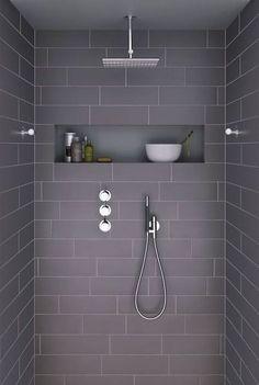 Niches murales, 10 idées pour votre salle de bain - IDEO