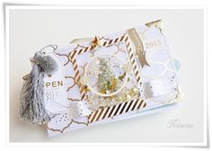 ALBUM PHOTO noël nouvel an fêtes par FloliescrapBoutique sur Etsy