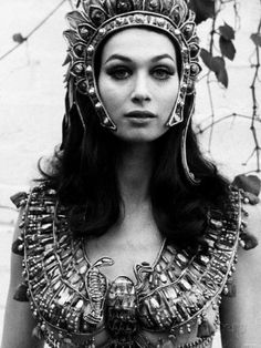 That looks evil! www.perlerbeads.co.uk Actress Valerie Leon in a Scene from the Hammer Horror Film Blood from the Mummy's Tomb