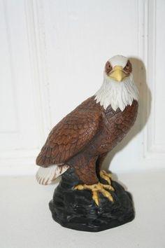 "1982 AVON Pride of America porcelain Eagle figurine 7 3/4"" x 5.5"" x 4 1/4"" MINT $15"