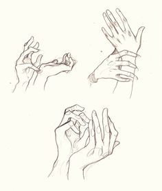 Awkward hands