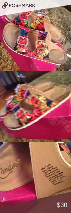 Candies cute colorful sandals Very nice Candie's Shoes Sandals