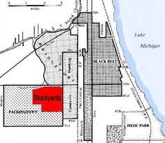 map of chicago ethnic neighborhoods 1900 - Google Search