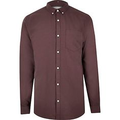 Purple Oxford shirt £20.00