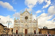 Santa Croce Church  In Florence City , Italy - Download From Over 29 Million High Quality Stock Photos, Images, Vectors. Sign up for FREE today. Image: 44816689