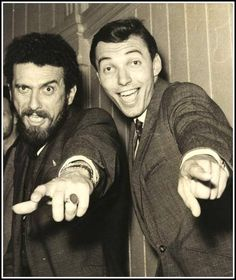 Czechoslovak singers: Valdemar Matuška and Karel Gott Gott Karel, Iconic Photos, Famous Faces, Czech Republic, Childhood Memories, Movie Stars, The Past, Singer, Historia