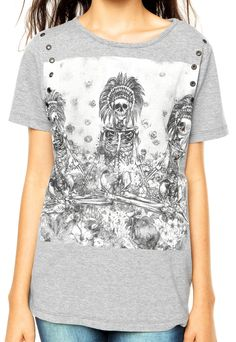 Camiseta Colcci Boy Cinza - Marca Colcci
