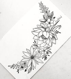 Flowers tattoos