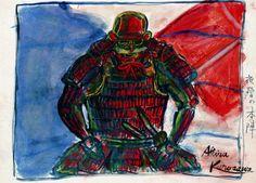 Akira Kurosawa painted storyboard for Kagemusha Japanese Film, Japanese Art, Kurosawa Akira, Storyboard Film, Epic Film, Movie Poster Art, Life Is Strange, Cool Artwork, Amazing Artwork