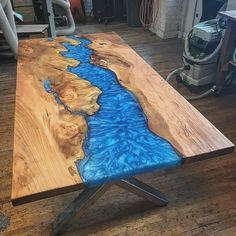 Pin By Sentot Burhanudin On Table Epoxy Wood Table, Wood, Resin Coffee Woodworking 8613867774190 - Ben Joseph Gross Epoxy Wood Table, Wood Table Design, Rustic Wooden Table, Timber Table, Rustic Wood Furniture, Resin Furniture, Reclaimed Wood Coffee Table, Rustic Design, Wooden Tables