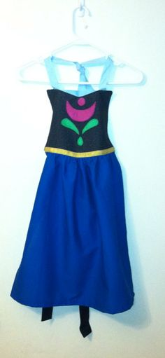 Disney Frozen Princess Anna Inspired Dress by LeighMarieBoutique, $22.50