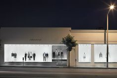 Theory shop Melrose, Los Angeles, 2013 - Nendo