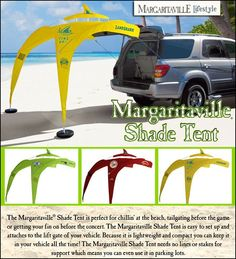 Margaritaville Tailgating Tent