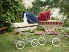 Prams, Retro, Kids And Parenting, Old And New, Baby Strollers, Children, Kids, Bebe, Childhood