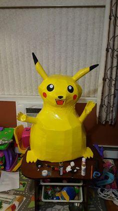 Pikachu Pinata, Fictional Characters, Art, Art Background, Kunst, Performing Arts, Fantasy Characters, Art Education Resources, Artworks