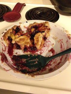 My Favorite Things: Blueberry Peach Pie {recipe #58}