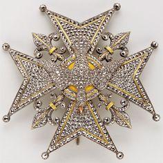 FRANCE_Plaque de l'Ordre du Saint-Esprit, 19ème. siècle / Collection Spada.