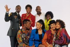 It was originally a showcase for the Cosby Show's most popular daughter, Denise (Lisa Bonet) - 'A Different World'